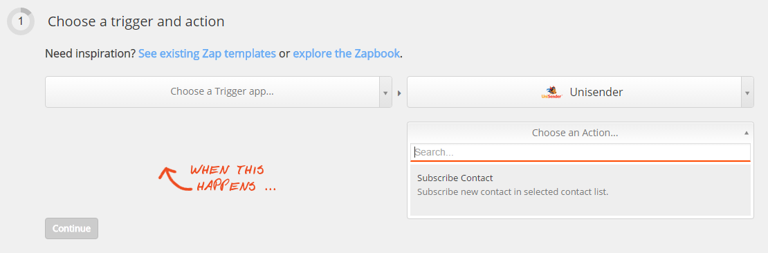 Интеграция с Zapier